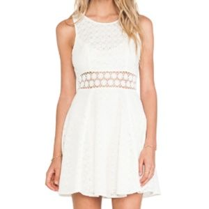 Free People • Ivory Daisy Waist Dress